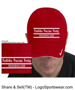The Fatbike Frozen Forty cap Design Zoom